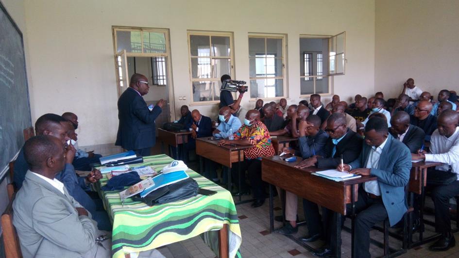 Province Educationnelle Lukunga: Organisation d'un atelier pour la redynamisation des groupes d'aide psychopédagogiques pour réduire le taux de redoublement, d'échec et d'abandon scolaire.
